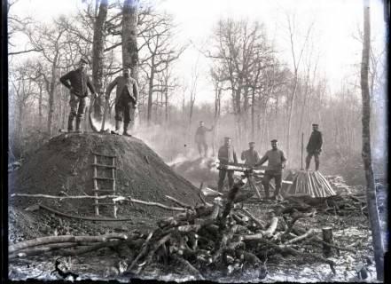 ARH NL Kageler 339,  1. Weltkrieg, Holzkohlenbrenner, Bois des Rays?, Frankreich, zwischen 1914/1918