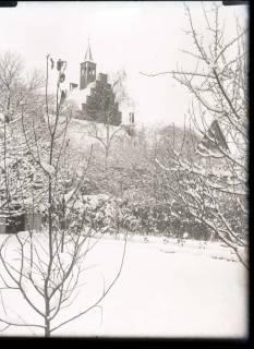 ARH NL Kageler 347, Margarethenkirche im Winter, Gehrden, zwischen 1914/1918