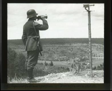 ARH NL Kageler 351, 1. Weltkrieg, Späherfeuerposten, Priesterwald (Bois-le-Prêtre), Frankreich, zwischen 1916/1918