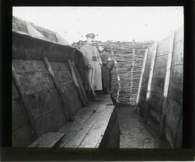 ARH NL Kageler 356, 1. Weltkrieg, Salonstellung, II. Stellung, Mailly-sur-Seille, Frankreich, zwischen 1914/1918