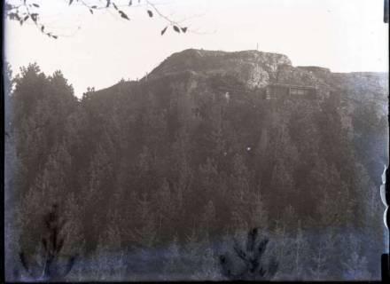 ARH NL Kageler 363, 1. Weltkrieg, Stellung an einem Berg, Frankreich, zwischen 1914/1918