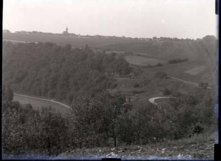 ARH NL Kageler 404, 1. Weltkrieg, Blick vom Schanzplatz auf Gravelotte, Frankreich, zwischen 1914/1918