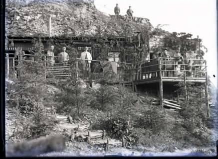 ARH NL Kageler 417, 1. Weltkrieg, Lazarett? im Berg, Frankreich, zwischen 1914/1918