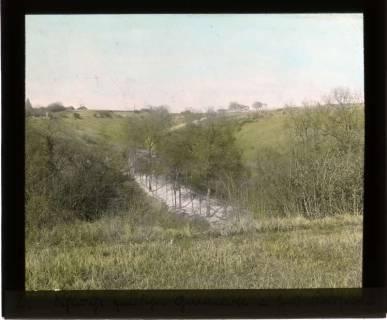 ARH NL Kageler 430, 1. Weltkrieg, Schlucht in St. Hubert zwischen Gravelotte und Fort Kaiserin, Frankreich, zwischen 1914/1918