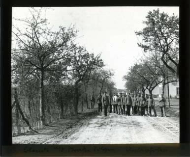 ARH NL Kageler 435, 1. Weltkrieg, Auf der Straße Sologne-Unterhofen, Frankreich, zwischen 1914/1918