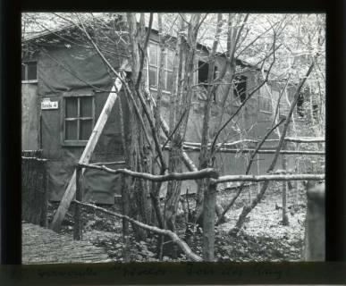 ARH NL Kageler 436, 1. Weltkrieg, Baracke im Wald, Bois des Rays, Frankreich, zwischen 1914/1918
