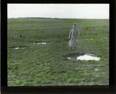 ARH NL Kageler 443, 1. Weltkrieg, Granatlöcher in der Nähe von Mailly-sur-Seille, Frankreich, zwischen 1914/1918