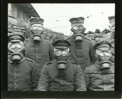 ARH NL Kageler 444, 1. Weltkrieg, ABC-Schutzmasken, Solgne, Frankreich, zwischen 1914/1918