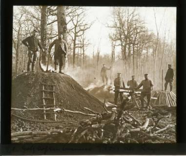 ARH NL Kageler 446, 1. Weltkrieg, Holzkohlenbrenner, Bois des Rays?, Frankreich, zwischen 1914/1918