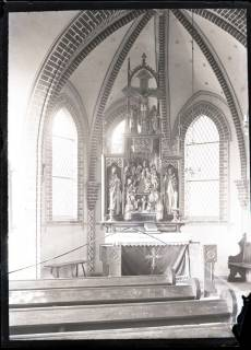 ARH NL Kageler 454, Schnitzaltar in der Kapelle, Everloh, zwischen 1914/1918