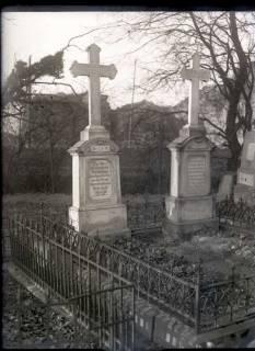 ARH NL Kageler 464, Grabstein von Pastor Justus Wilhelm Lyra, Gehrden, vor 1914