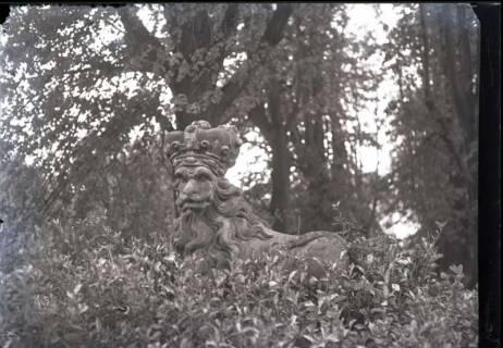ARH NL Kageler 483, Steinfigur bei der Franzburg, Gehrden, vor 1914