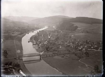 ARH NL Kageler 494, Luftbild vom Weserbergland, ohne Datum