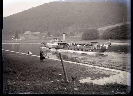 ARH NL Kageler 502, Raddampfer auf der Oberweser, 1913