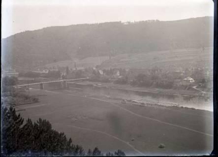 ARH NL Kageler 504, Luftbild von der Oberweser, vor 1914