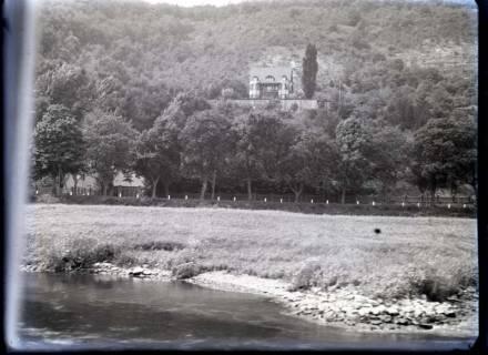 ARH NL Kageler 506, Landschaft an der Oberweser, vor 1914