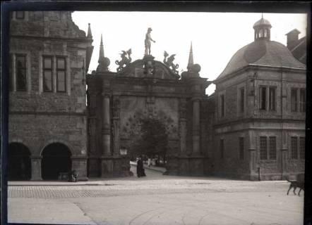 ARH NL Kageler 508, Eingang zum Schlossgelände, Bückeburg, 1913