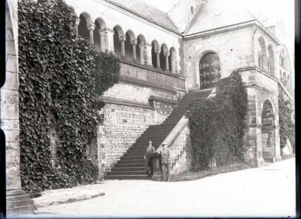 ARH NL Kageler 518, Ehepaar Kageler am Dom, Goslar, 1913