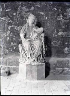 ARH NL Kageler 520, Madonna im Kreuzgang vom Dom, Goslar, 1913
