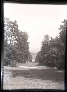 ARH NL Kageler 525, Kurpark Wilhelmshöhe mit Blick auf das Schloss, Kassel, vor 1914
