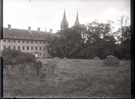 ARH NL Kageler 526, Westflügel von Schloss Corvey, Höxter, 1913