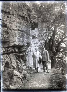 ARH NL Kageler 540, Ehepaar Kageler auf der Roßtrappe, Thale, 1913