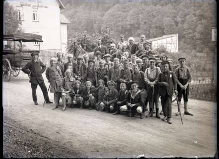 ARH NL Kageler 542, Gruppenaufnahme, Bad Suderode, 1913
