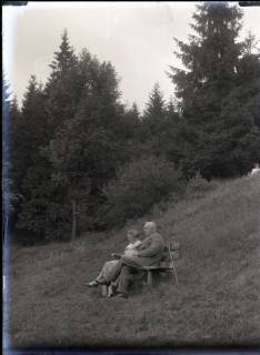 ARH NL Kageler 546, Ehepaar Kageler bei einer Rast im Harz, 1913