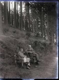 ARH NL Kageler 547, Ehepaar Kageler bei einer Rast im Harz, 1913