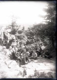 ARH NL Kageler 557, Gruppenfoto Bodetal im Harz, 1913