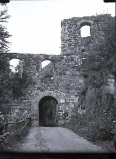 ARH NL Kageler 566, Ruine Hohenstein, Landkreis Hameln-Pyrmont, 1913