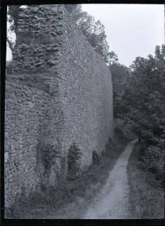 ARH NL Kageler 567, Mauerrest auf dem Burgberg, Bad Harzburg, 1913