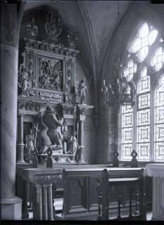 ARH NL Kageler 575, Epitaph des Grafen Ernst VII. von Hohnstein im Kapitelsaal, Kloster Walkenried, 1913