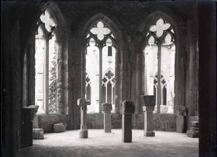 ARH NL Kageler 576, Kirchenfenster und Taufschalen, Kloster Walkenried, 1913