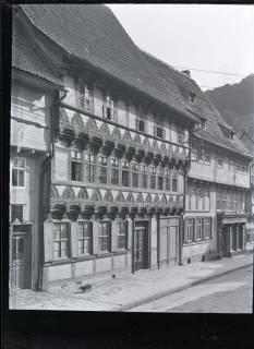 ARH NL Kageler 598, Haus mit Holzschnitzarbeiten, Stolberg (Harz), 1913