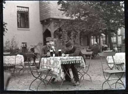 ARH NL Kageler 601, Im Gartenlokal, Goslar, 1913