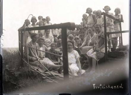 ARH NL Kageler 647, Wanderausflug zur Teufelskanzel, wohl 1920