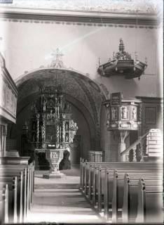 ARH NL Kageler 658, Innenraum Kirche, Wilkenburg, ohne Datum