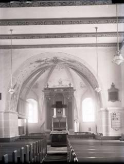 ARH NL Kageler 665, Innenraum Kirche, Hohenbostel, ohne Datum