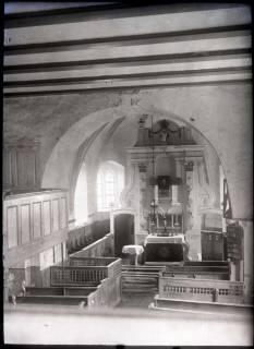 ARH NL Kageler 666, Innenraum Kirche, Hohenbostel, ohne Datum