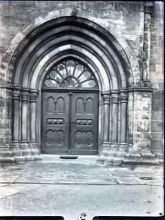 ARH NL Kageler 670, Romanisch-Gotisches Kirchenportal, Barsinghausen, 1940