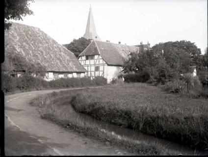 ARH NL Kageler 712, Blick auf die Kirche, Wennigsen, ohne Datum