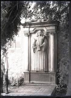 ARH NL Kageler 739, Grabstein (Pastor Reimarius + 1661), Stemmen, 1940