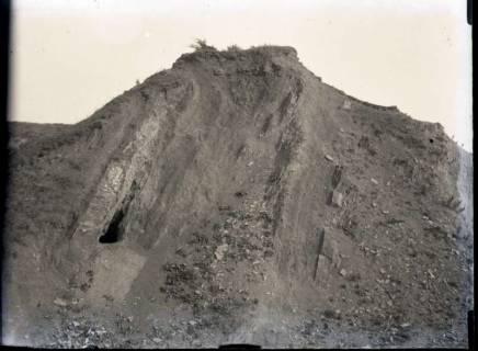 ARH NL Kageler 777, Straßendurchbruch, steile Schichten, Stemmer Berg, 1940