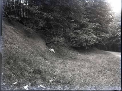 ARH NL Kageler 785, Talbildung durch Erosion, abrutschender Talhang, Gehrdener Berg, 1940