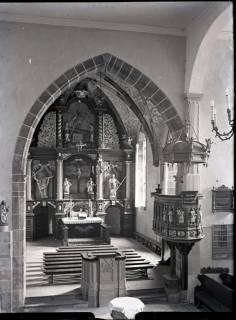 ARH NL Kageler 814, Hauptaltar, Wennigsen, 1940