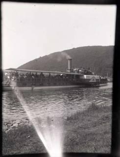 ARH NL Kageler 844, Schaufelraddampfer auf der Weser, ohne Datum