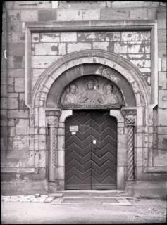 ARH NL Kageler 895, Kirchenportal bei St. Godehard, Hildesheim, ohne Datum