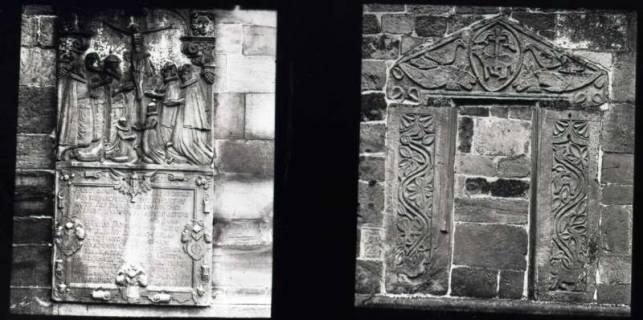 ARH NL Kageler 913, Altes Portal, Ronnenberg und Grabplatte?, ohne Datum