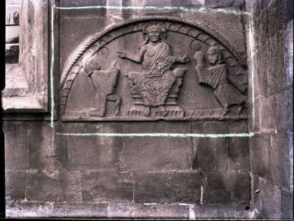 ARH NL Kageler 916, Romanisches Bogenfeld an der Kirche, Wennigsen, ohne Datum